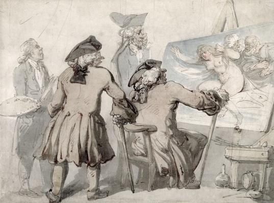 The Connoisseurs, c.1790