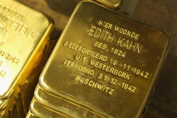 Stolpersteine Project Commemorates Victims Of The Holocaust   Remembering the Holocaust