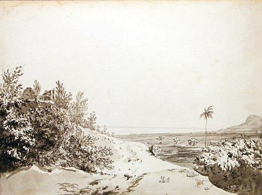 View from the Pass of Sakrigali Looking East Towards Bengal, c.1781