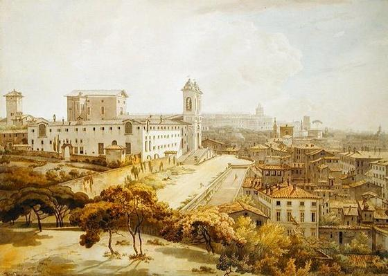 A View of Rome taken from the Pincio, 1776