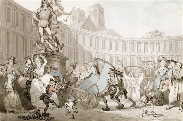 La Place des Victoires, Paris, c.1789
