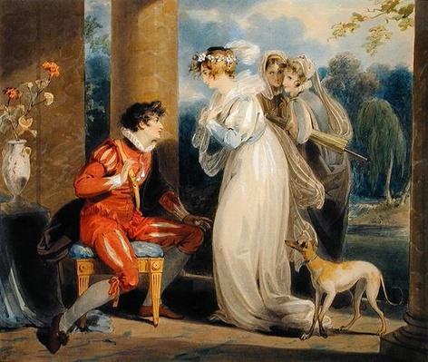 Rosebud, or the Judgement of Paris, 1791