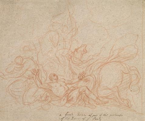 Sketch for the Conversion of St. Paul for the dome of St. Paul's Cathedral