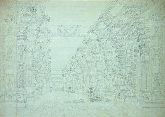 Tremal Naig's Choultry, Madura, July 1792