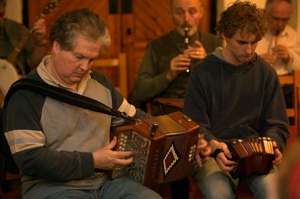 Celtic music at Ceili social event at Comhaltas Ceoltiri | Musical Instruments