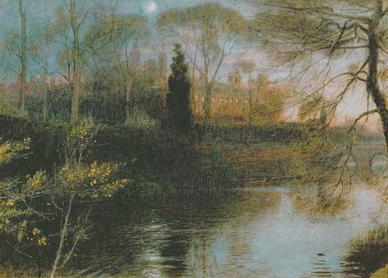 The Backs, Cambridge, 1908