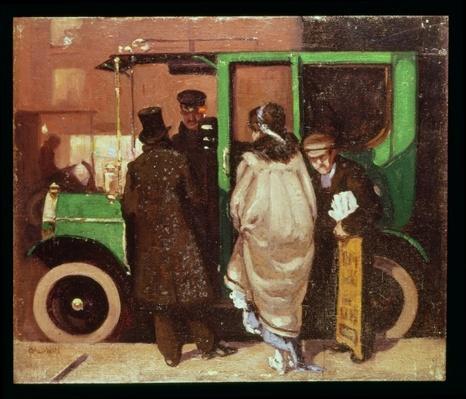 The Taxi Cab, c.1908-10