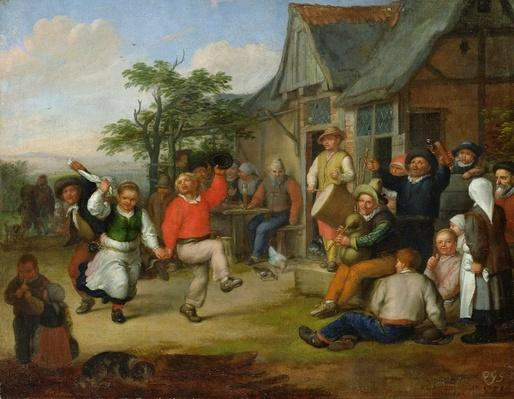 The Peasants' Dance, 1678