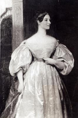 Portrait of Augusta Ada Byron