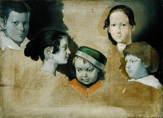 The five eldest children of the painter Julius Schnorr von Carolsfield