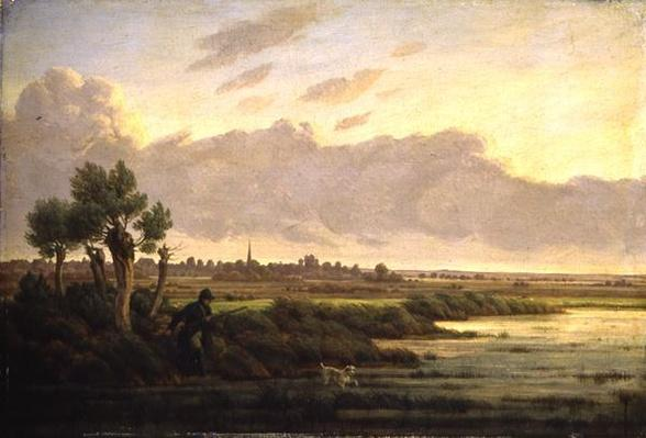 On the Alster at Winterhude, 1834