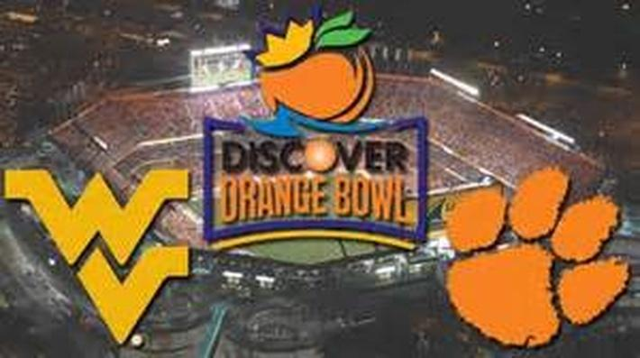WVU Plays in the Orange Bowl