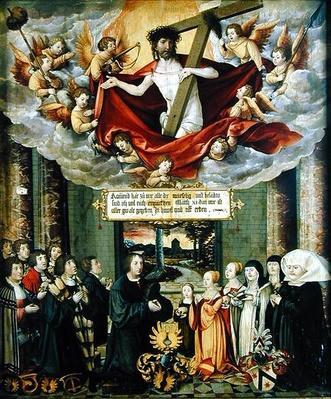 Panel from the tomb of Sebastian Welling, Stuttgart burgermeister, 1535