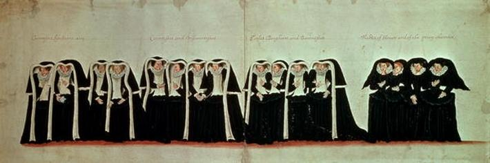 Detail of the Funeral Procession of Queen Elizabeth I
