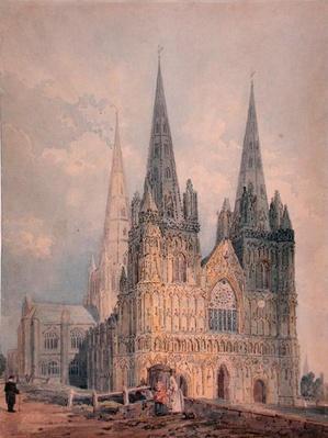 Lichfield Cathedral, Staffordshire, 1794