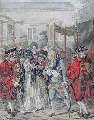 Margaret Nicholson Attempting to Assassinate His Majesty, George III
