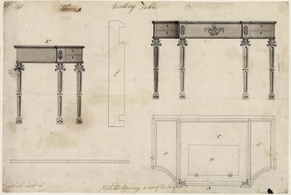 Design for a Writing Table