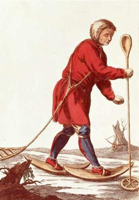 An Ostiak Hunting Ermine