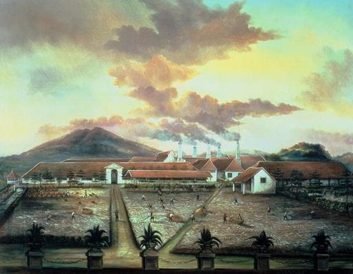 A Sugar Plantation in the South of Trinidad, c.1850