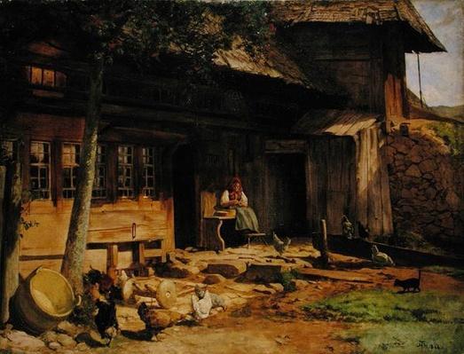 The Parental Home in Bernau, 1866