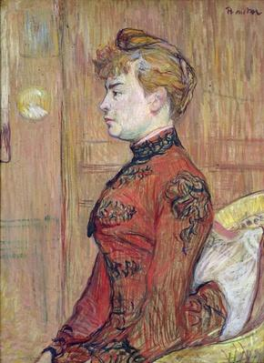 Portrait Study of a Woman in Profile, 1890