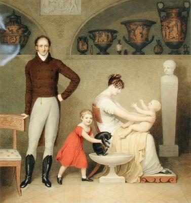 The Artist and his Family, 1813