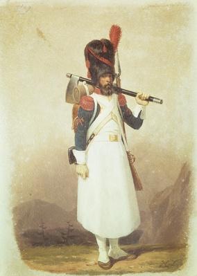 Napoleonic Soldier, 1811