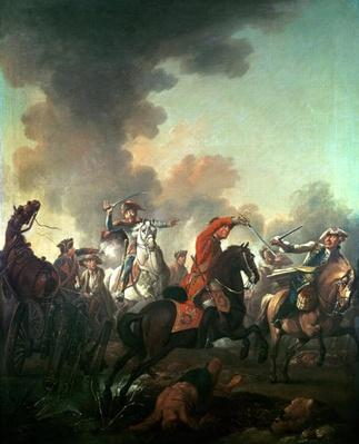 Thomas Brown at the Battle of Dettingen, 27th June 1743