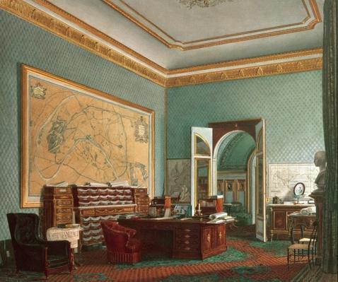Napoleon III's Study at the Tuileries, 1862