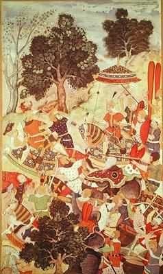 The Capture of Bakadur Khan