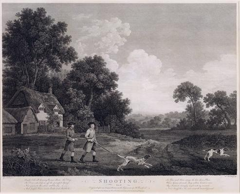 Shooting, plate 2, engraved by William Woollett