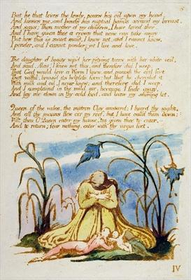 'But he that Loves the Lowly...', plate 7 from 'The Book of Thel', 1789