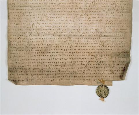 Ecclesiastical deed of the Grand Duke of Moscow, Dmitry Donskoy, 1389