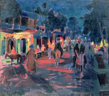 Night Cafe, 1910s