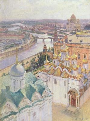 View of Moscow from the Bell Tower of Ivan the Great, 1896