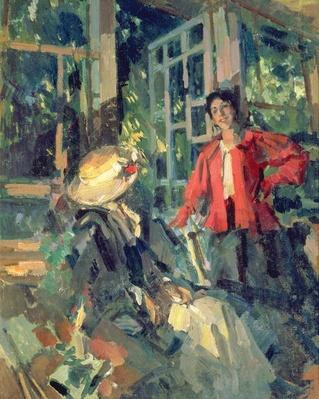 At the Window, 1919