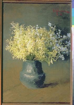 Wild Lilacs and Forget-Me-Nots, 1889