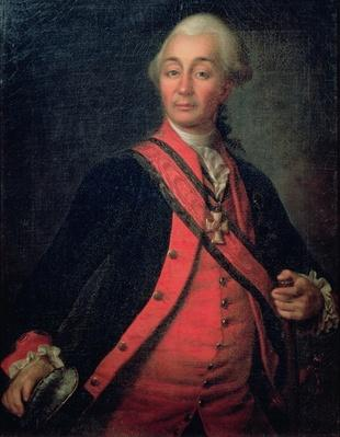 Portrait of Field Marshal Generalissimo, Count Aleksandr Vasilievich Suvorov