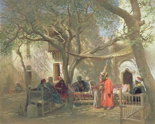 Dervishes in Cairo, 1875