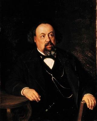 Portrait of Alexey Fiofilaktovich Pisemsky