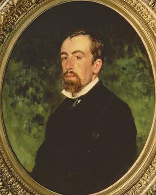 Portrait of Vasiliy Polenov