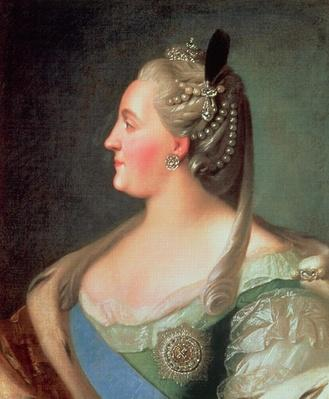 Portrait of Empress Catherine II the Great