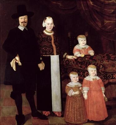 Portrait of a Hamburg Family, c.1640