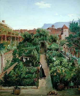 The Ottmannsgutes' Flower Garden in Merano, c.1840