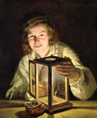 The Young Stableboy with a Stable Lamp, 1824