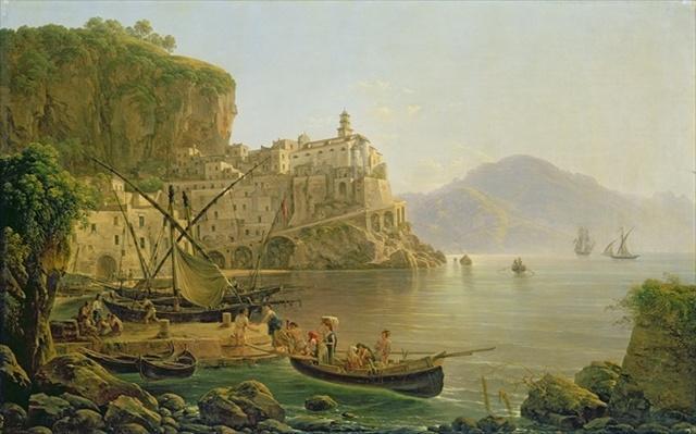 View Towards Atrani on the Amalfi, 1817
