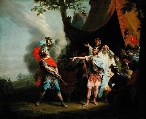Achilles has a dispute with Agamemnon, 1776