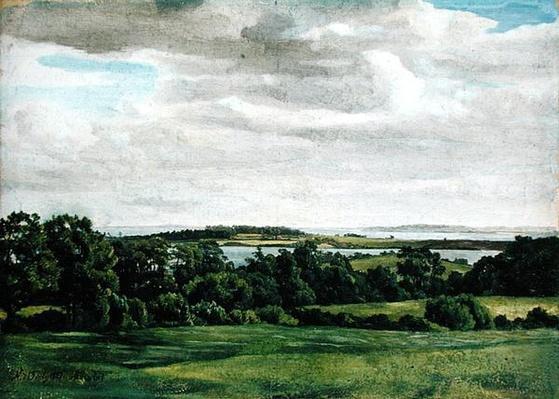 Landscape in Holstein, 1827