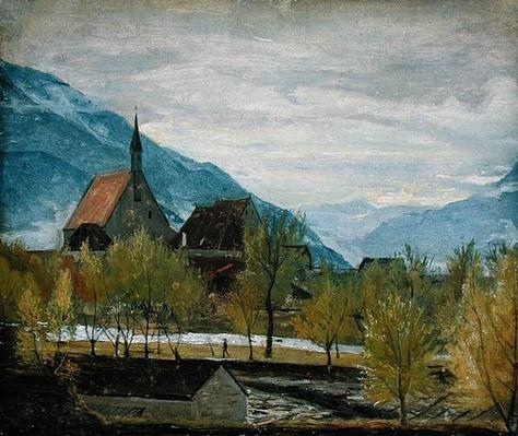 Early snow in Merano, 1830-31