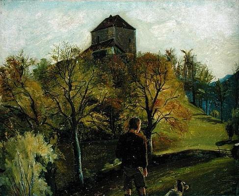 The Zenoburg in the Tyrol, c. 1831